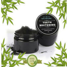 Activated Charcoal Powder Natural Organic Teeth Whitening Black Toothpaste NEW