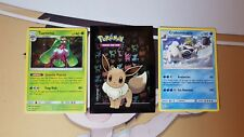 Pokemon Cards TCG 1x Eevee Sleeve + Random RARE & HOLO Card Genuine amazing gift