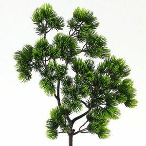 Artificial Fake Pine Tree Branches Simulation Green Plant Home Office Decoration