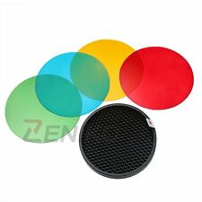 Godox AD-S11 Color Filter Honeycomb Grid Cover Kit for WITSTR AD180 AD360 Flash