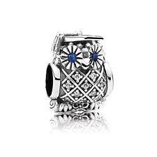 Pandora Graduate Owl Charm, Graduation Bracelet Bead, Original, New, #791502NSB