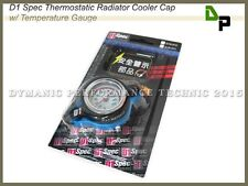GENUINE D1 Spec Large Head 1.3 Bar Pressure Thermo Temp Gauge Radiator Cap