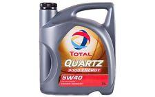 TOTAL QUARTZ 9000 ENERGY Sintético SAE 5W40 Aceite de Motor 5 Litros 5L TOT009