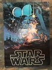 "Star Wars Poster Vintage Hildebrandt 1977 Movie Poster 28"" X 20"" Original"