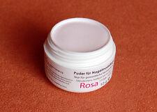 10 g Aufbau und Acrylpulver  Hellrose Puder Rosa