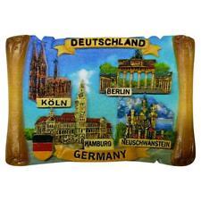 Deutschland Magnet Polyresin Köln Berlin Germany Neuschwanstein Souvenir Bauer