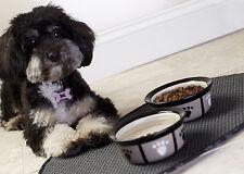 """Envision Home Washable Pet Bowl Mat 12.5""""x21.5"""""""