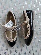 The childrens place girls aborable dressy shoes sz 13 NWT