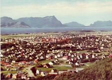Continental-size NORWAY. BODO - UTSIKT OVER BYEN FRA RONVIKFJELLET