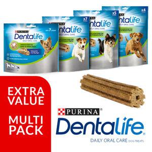 Purina Dentalife Oral Care Chicken Like Dentastix Chew, Dog Treat Removes Plague