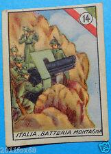 figurines figuren cards cromos figurine v.a.v. vav 14 la guerra nostra alpini ss