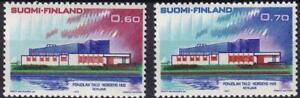 Finland 1973 Nordic Postal Conference 60-70p set, MNH sc#527-528