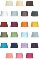 """8"""" 10"""" 12"""" 14"""" Cotton Textured Fabric Empire Drum Shade Table Ceiling Lampshade"""