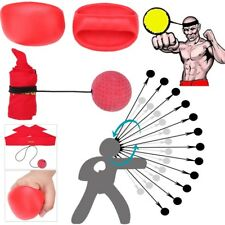 Punching Ball Speed Agility Training Reaction Boxing Glove Exercise Fitness Set