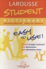 Larousse Student Dictionary Spanish-English / English-Spanish (Larousse Bilingua