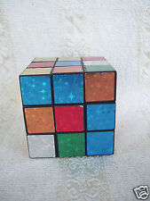 "Multi Color Full Function 2 1/2"" square Magic Cube Twist Puzzle Toy"