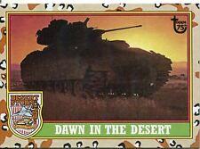Topps 75th Anniversary Base Card 98 Desert Storm