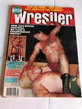 The Wrestler Magazine - April 1982 - Ric Flair, Jack Brisco NWA Title