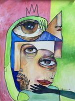 "PAINTING ORIGINAL OIL ON CANVAS CUBAN ART 30""X40"" by Lisa."