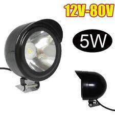 Universal Motorcycle E-Bike Scooter LED Spot White Light Headlight 12V-80V 5W