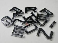 Range Rover L322 Vogue 3d chrome badge coffre capot mot Lettres Lettrage Logo