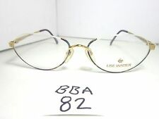 New LISE WATIER Lunettes Eyeglass Frame Nicolet LW 006-142 GEP Half Rim (BBA-82)