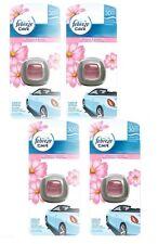 4 X Pack Febreze Blossom & Brisa de Ambientador de Aire Coche Furgoneta Vehículo Aroma Clip en