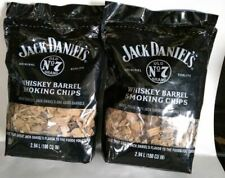Jack Daniels Tennessee Whiskey Barrel Wood Smoking Chips 180 Cubic Inch (2 Pack)