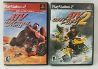 ATV OFFROAD FURY AND 2 BUNDLE (Sony PlayStation 2)