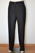 MARINA RINALDI, Black Stretch Wool Pants, Plus Size MR 27, 18W US, 48 DE, 56 IT