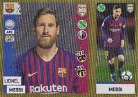 PANINI FIFA 365 2019 LIONEL MESSI GOLD FOIL STICKER NO 94