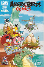 Angry Birds 1-RE IDW Awesome Con Variant cover limited edition 1/1200 Parker VF+
