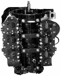 Remanufactured Johnson/Evinrude 150/175 HP 60° Carbureted V6 Powerhead 1994-1996