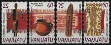 Vanuatu 1995 - Mi-Nr. 996-999 ** - MNH - Kunsthandwerk