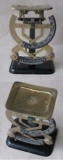 ANTIQUE GERMAN POSTAL LETTER SCALES BALANCE BILATERAL 250 g / J. MAUL / 1920s