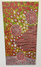 "Original Oil Painting Aboriginal Art Modern 47"" x 24"" By Anna Naninurra"