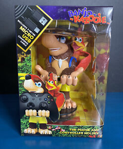 2019 Cable Guys BANJO-KAZOOIE Deluxe Phone & Controller Holder w/ USB Cable!