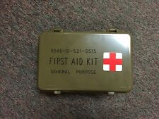 Military Army First Aid Kit Box General Purpose