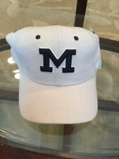 NWOT Michigan Wolverines Football Basketball Zephyr Hat Cap 6 3/4 New W/O Tags