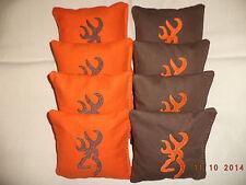 Cornhole Bags Camouflage Camo Deer Buck cornhole bean bags 8 ACA Regulation Emb