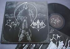 ENTH / AMAROK Split LP NEAR MINT plus inner DOOM DEATH METAL ROCK