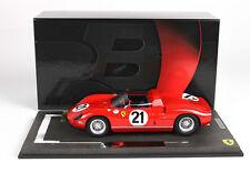 Ferrari 250 P Winner 24h le Mans 1963 lim.ed.199pcs 1/18 BBRC1826B BBR
