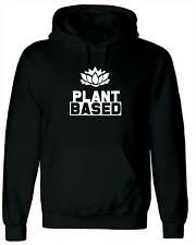 Plant Based, Personalised Hoodie Custom Hooded Men T Shirt Top Design