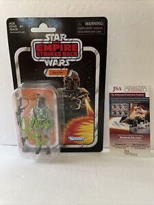 John Morton Signed Star Wars 3.75 Inch Boba Fett JSA Empire Strikes Back VC09