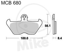 TRW Lucas brake pads MCB680 front BMW R 1100 S 5,0 Inch Rim ABS