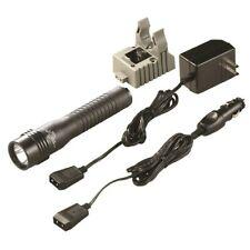 Streamlight Black Strion HL LED Flashlight 500 Lumens + AC/DC Charger Holder