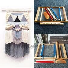 Funny Wooden Weaving Loom Creative Diy Weaving Art for Kids Beginners Experts
