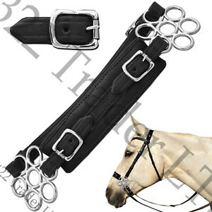 LUCKY WHEEL FLOWER HACKAMORE BITLESS HORSE BIT STAINLESS STEEL & COWHIDE LEATHER