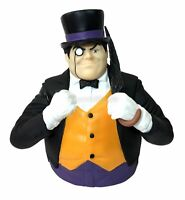 DC Penguin Molded Bust Bank Figure Coin Bank Marvel Universe