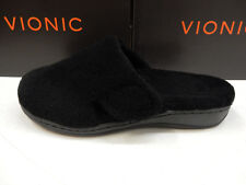 Vionic Womens Gemma Slipper Black Size 10